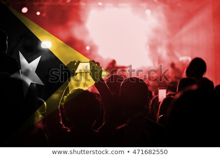 concert · amusement · rouge · noir · sombre - photo stock © rioillustrator