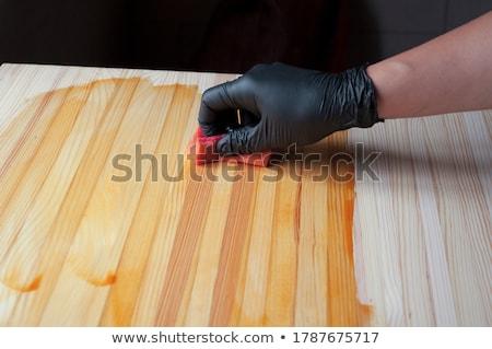 Hand Painted Wood Background Stock photo © ryhor