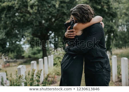 Grief - Funeral and cemetery Stock photo © Kzenon
