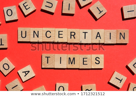 time for change in 3d letters and block Stock photo © marinini