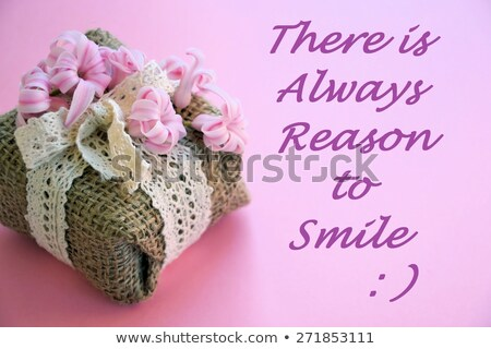 There is always a reason to smile. Stock photo © maxmitzu