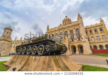 Foto stock: Tanque · museu · lugar · pistola · máquina · transporte
