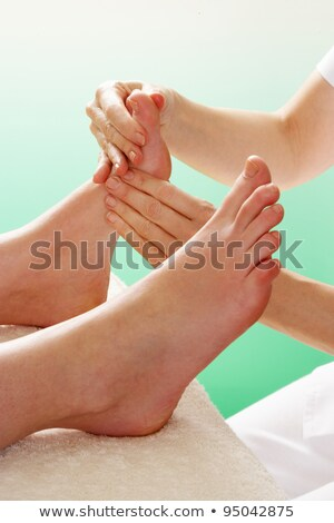 detail · voet · massage · vrouw · vrouwen · gezondheid - stockfoto © monkey_business