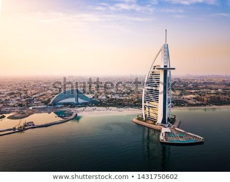 Lüks otel burj Arap kule Dubai Stok fotoğraf © IMaster