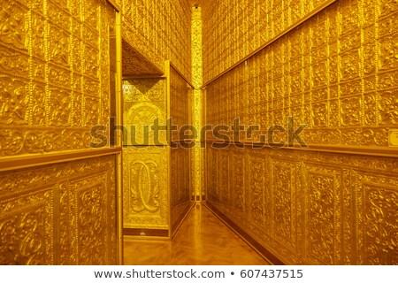 внутри · пагода · Мьянма · текстуры · искусства · азиатских - Сток-фото © sundaemorning
