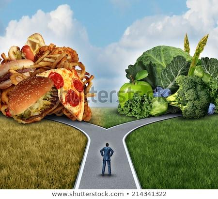 diet decision stock photo © lightsource