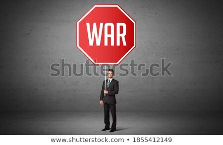 bomba · guerra · ameaça · estoque · perigoso - foto stock © tashatuvango