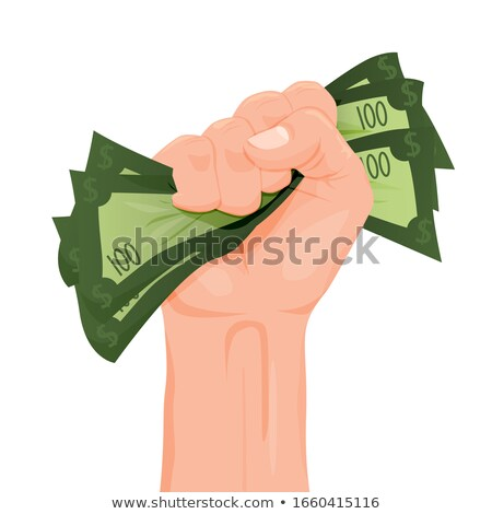 gazdag · felirat · pénzkeresés · jelentés - stock fotó © lightsource
