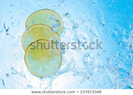 some lemon slices in water Stock photo © Rob_Stark