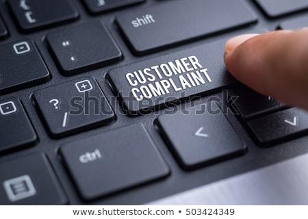 Palavra dobrador cartão foco informação dados Foto stock © tashatuvango