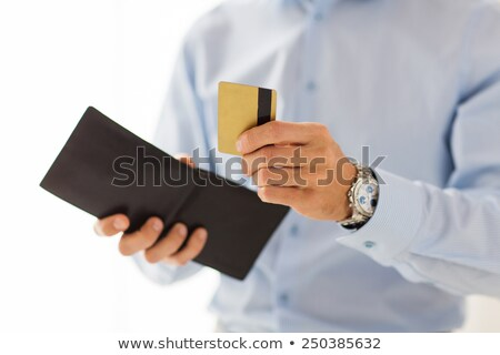 Businessperson With Open Wallet Stock photo © AndreyPopov