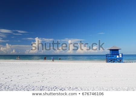 Siesta Key Beach in Sarasota Florida Stock photo © arenacreative
