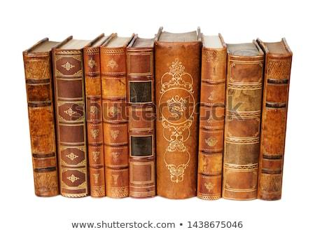 velho · antigo · livros · educação · bíblia · caderno - foto stock © saransk