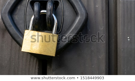 closing hasp Stock photo © teerawit