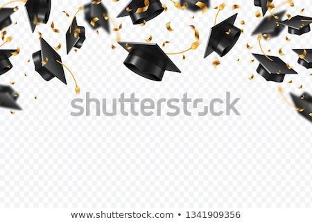 complimenti · laurea · illustrazione · scuola · istruzione · uccello - foto d'archivio © irisangel