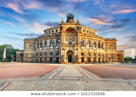 Semperoper Dresden stock photo © unkreatives
