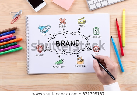 Brand idea Stock photo © stevanovicigor