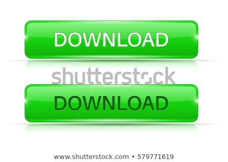 скачать зеленый вектора кнопки веб цифровой Сток-фото © rizwanali3d