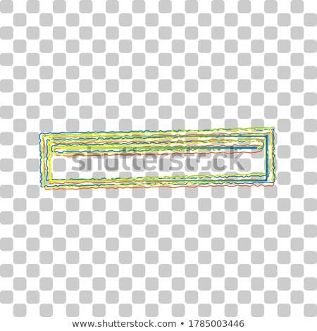 USB Sign Green Vector Icon Button stock photo © rizwanali3d