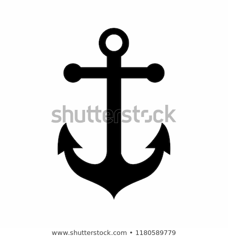 anker · geïsoleerd · boot · schip · water · ontwerp - stockfoto © djdarkflower