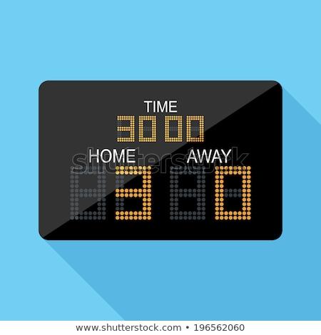 スコア ボード 黄色 ベクトル アイコン デザイン ストックフォト © rizwanali3d