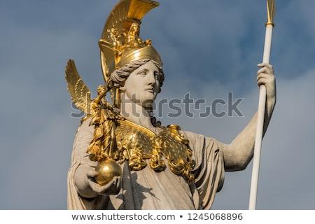 Pallas-Athena-Brunnen Fountain, Austrian Parliament in Vienna, A Stock photo © vladacanon