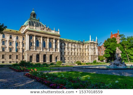 Palace of Justice (Justizpalast ) in Munich, Bavaria, Germany Stock photo © vladacanon