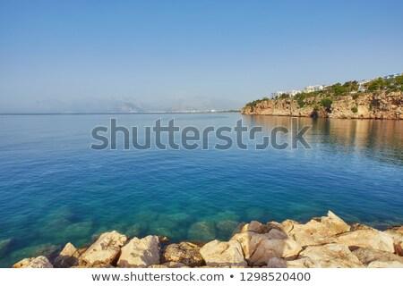Côte Turquie promenade marina nature mer Photo stock © m_pavlov