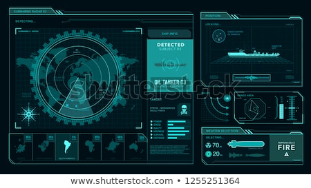 Submarine Command Center Stock photo © searagen