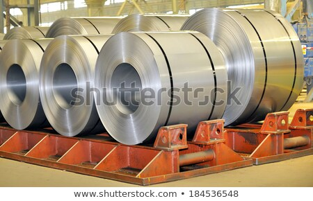 Galvanized role steel Stock photo © mady70