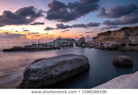 strand · panoramisch · zakynthos · Griekenland · water - stockfoto © komar