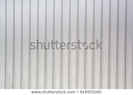 corrugated aluminum background Stock photo © sirylok