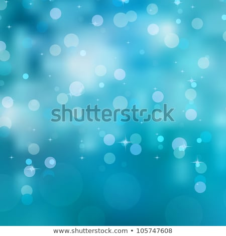 Photo stock: Bleu · bokeh · Noël · lumières · eps · vecteur