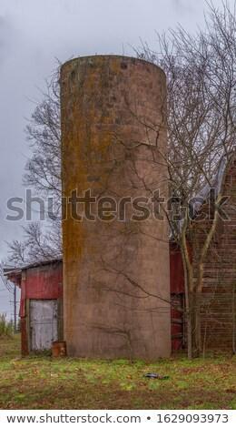 Eski bloklar mavi sanayi endüstriyel ülke Stok fotoğraf © njnightsky