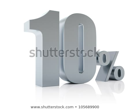 A ten percent discount tag Stock photo © bluering