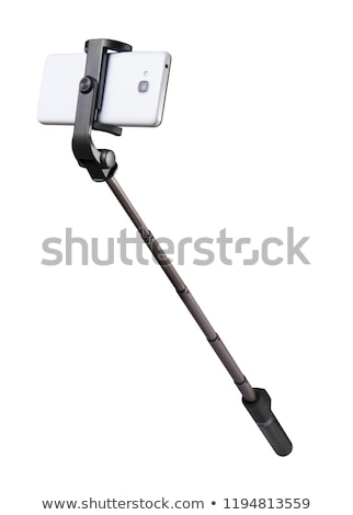 Selfie stick with cellphone Stock photo © bluering