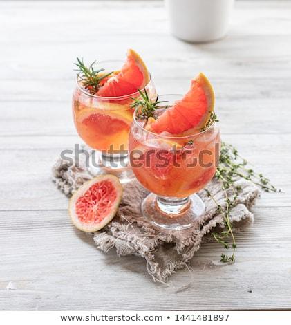 Fresh citric thyme. Stock photo © lidante