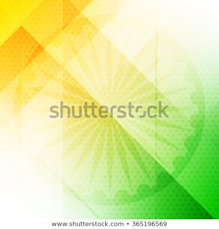tricolor background of india vector design illustration Stock photo © SArts