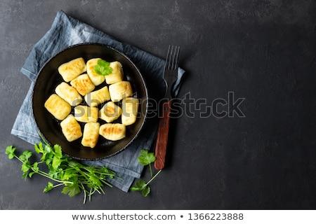 приготовленный картофеля продовольствие блюдо чаши небольшой Сток-фото © Digifoodstock