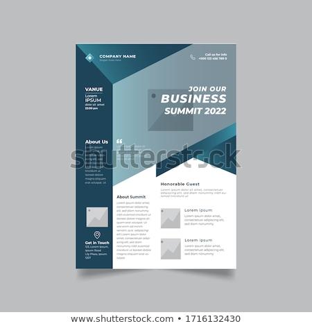 Сток-фото: аннотация · темно · цвета · компания · бизнеса · листовка