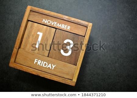 Stock photo: 13th November