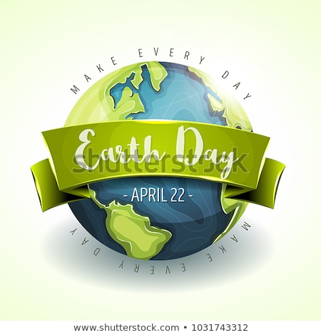 Earth day banner Stock photo © biv