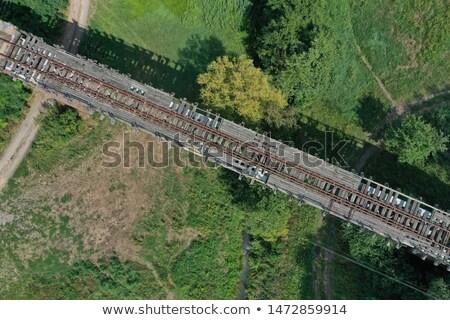 старые заброшенный моста ретро фильма посмотреть Сток-фото © tracer
