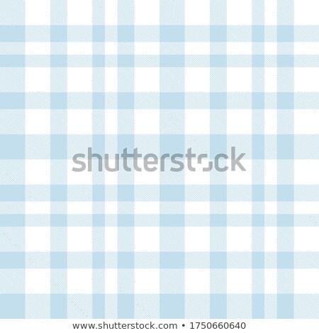 Zdjęcia stock: Niebieski · wektora · tkaniny · wzór · Szkocji