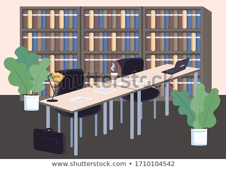 School scenes with students and classrooms Stock photo © bluering