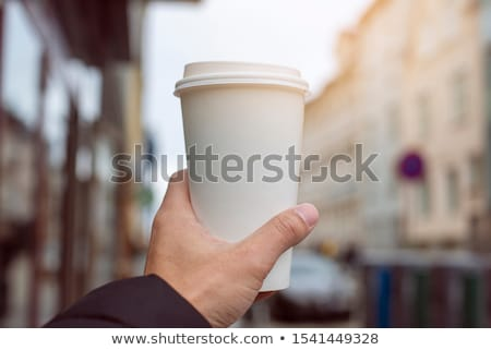 City life and coffee. Stock photo © Fisher