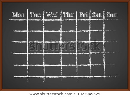 time for solutions   chalkboard with hand drawn text stock photo © tashatuvango