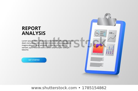 Clipboard with Data Management Concept. 3D. Stock photo © tashatuvango