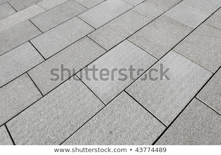Texture of Gray Paving Slabs. Geometric Pattern.  Stock photo © tashatuvango