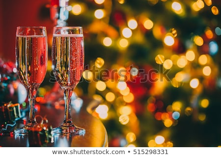 Сток-фото: Champagne Glasses Ready To Bring